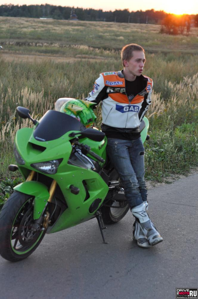 мотоцикл Kawasaki - Ninja - I and KAWA