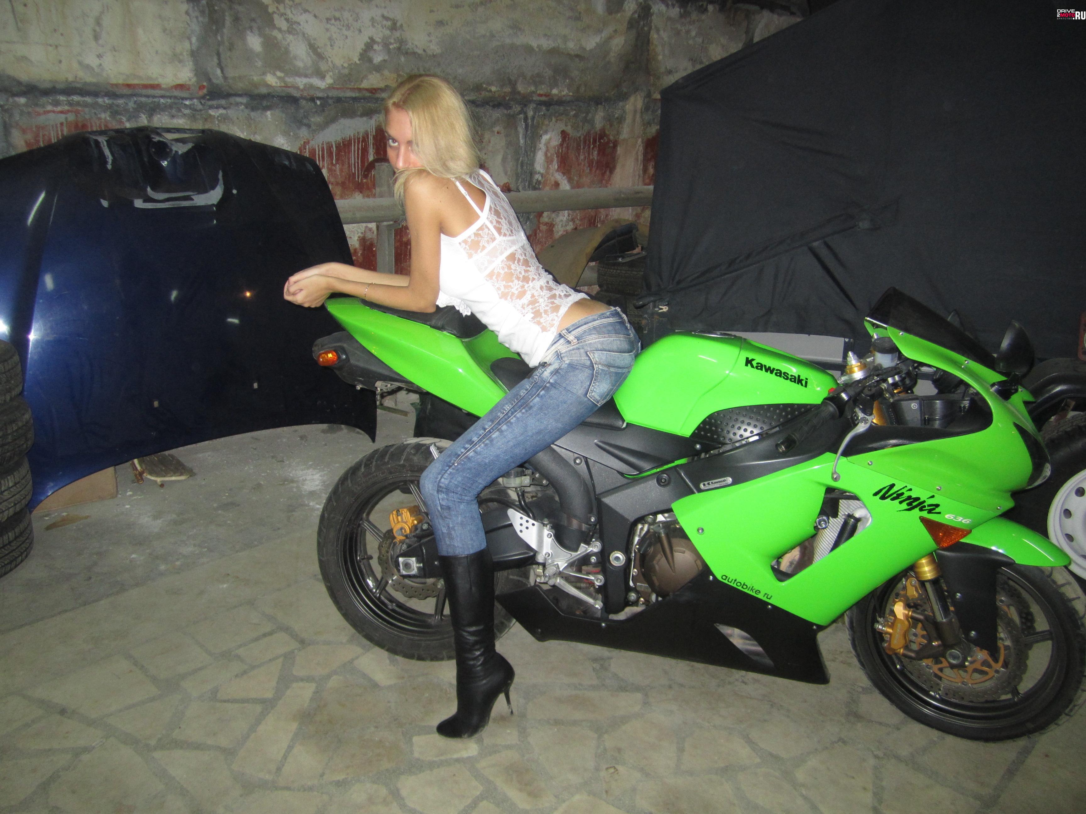 кавасаки мотоцикл фото