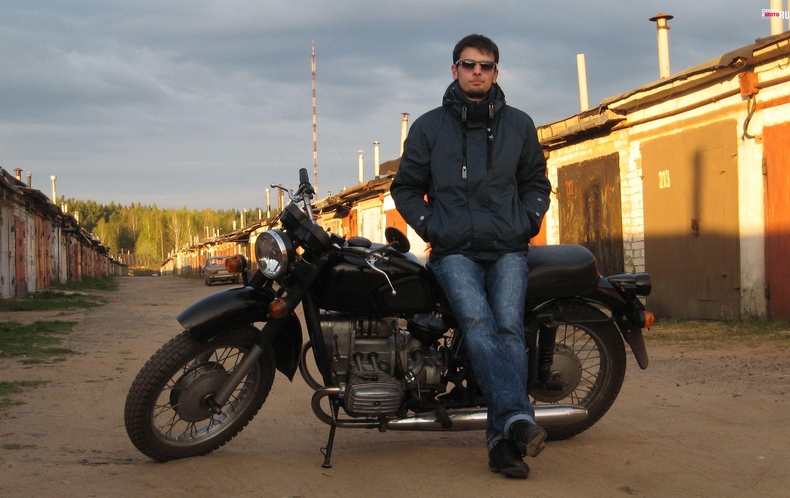 мотоцикл Днепр - МТ10.