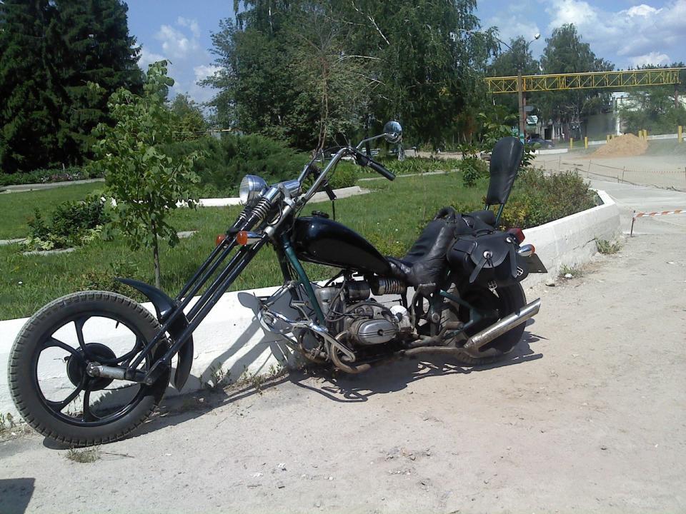 Багажник для мотоцикла своими руками
