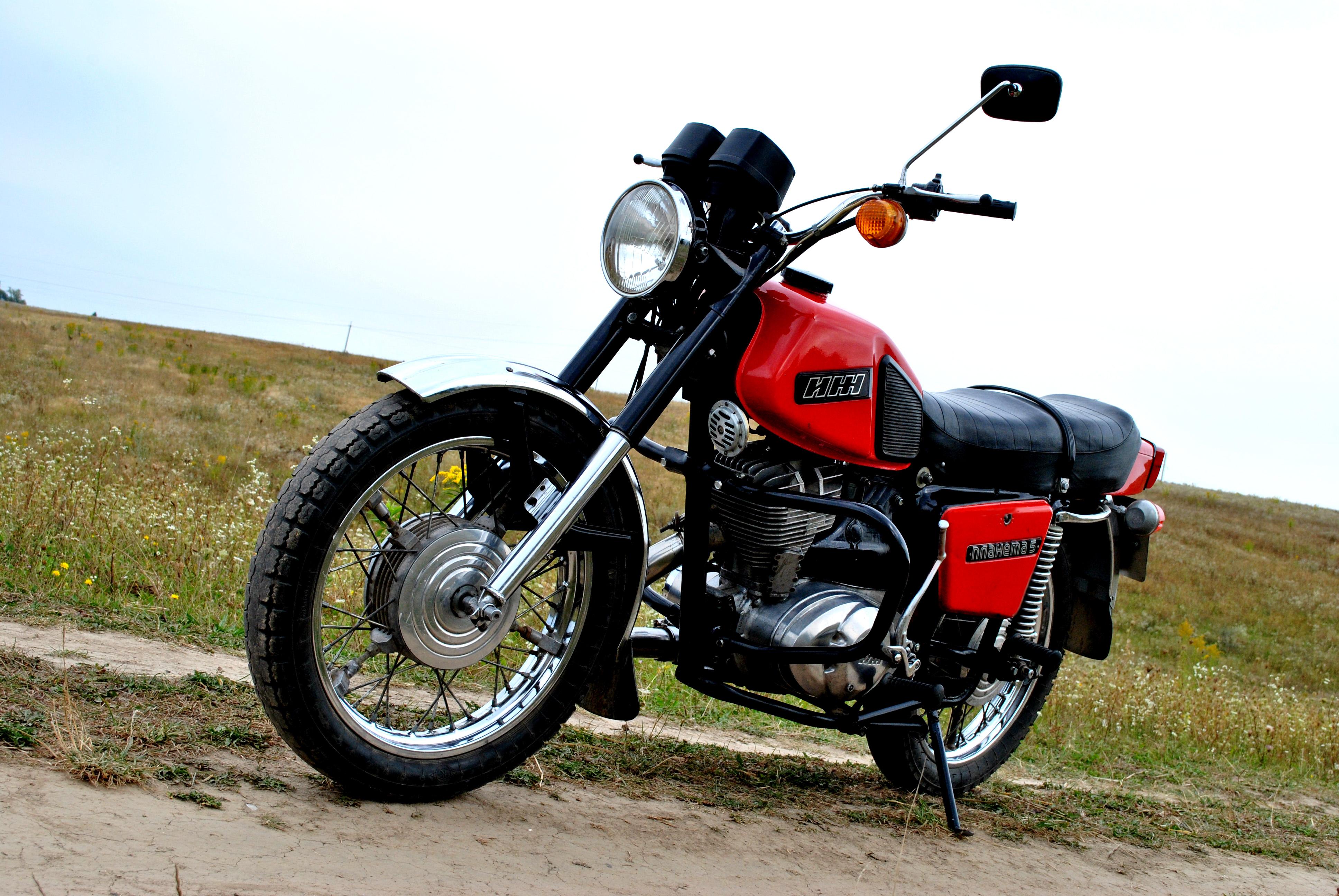 Мотоцикл иж планета 5 мой иж