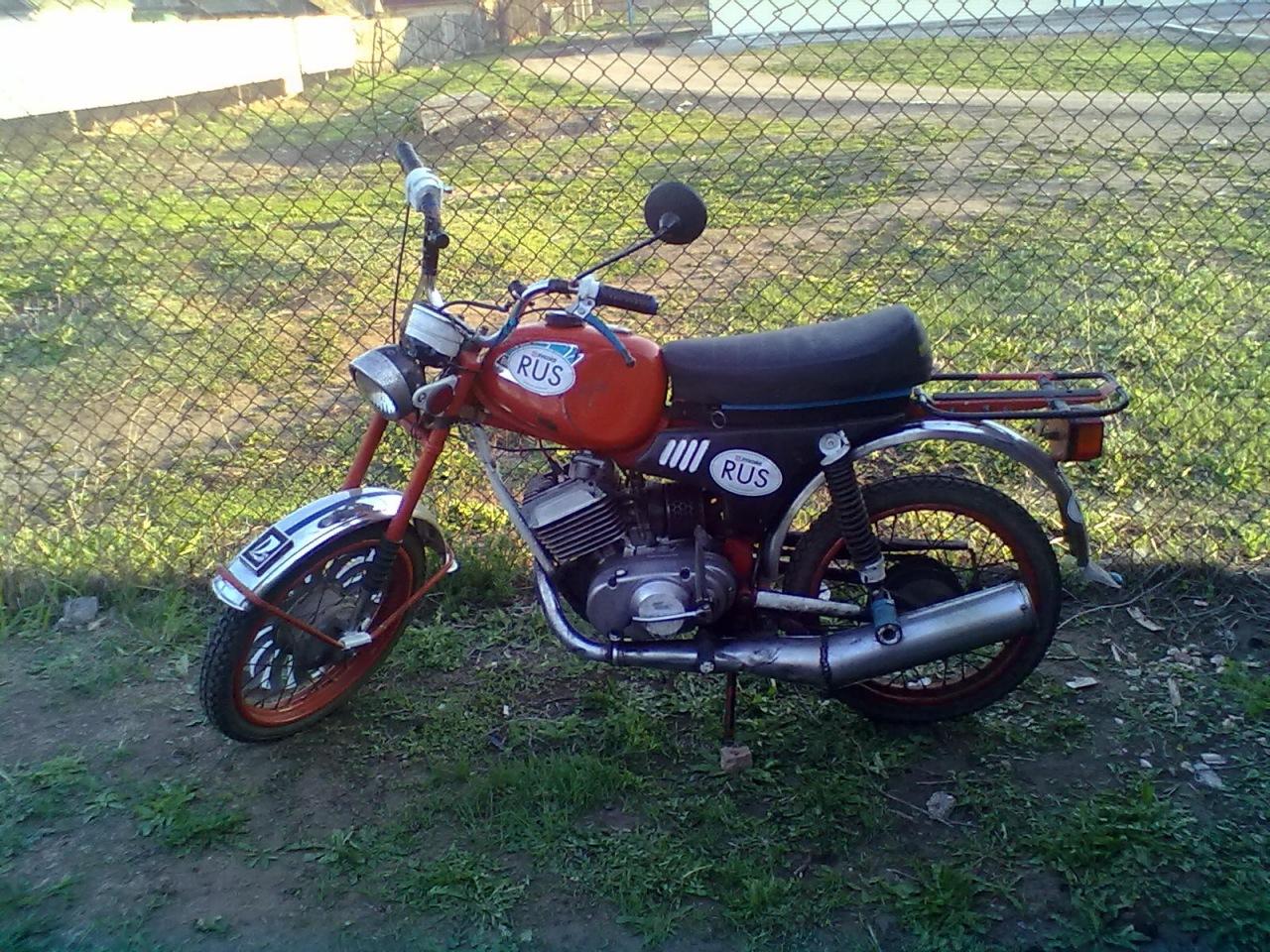 Мотоцикл карпаты 2 мотоцикл