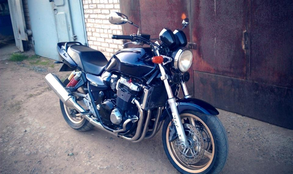 "мотоцикл Honda - CB - It""s my honda cb 1300 sf"