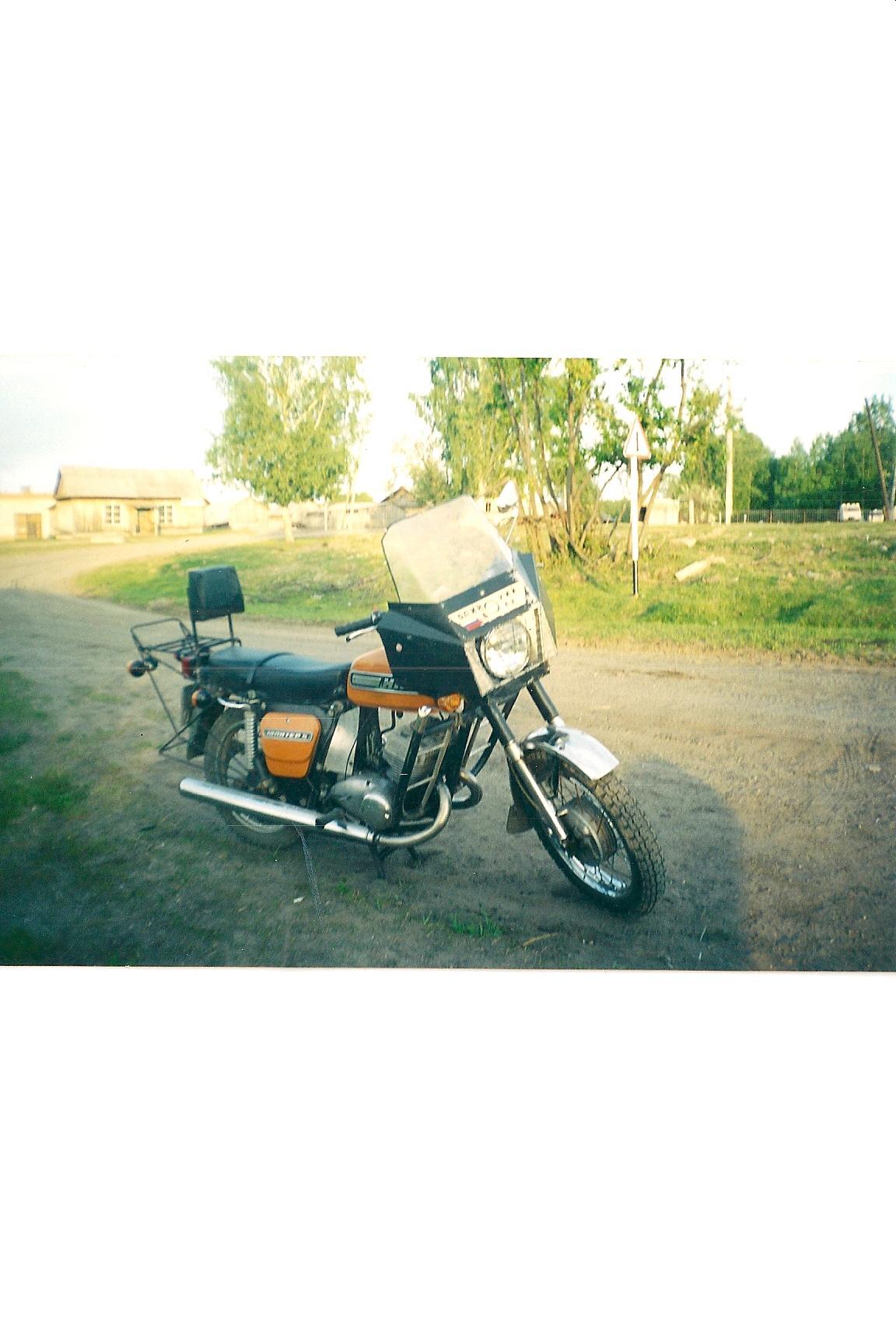 Мотоцикл иж юпитер первое фото