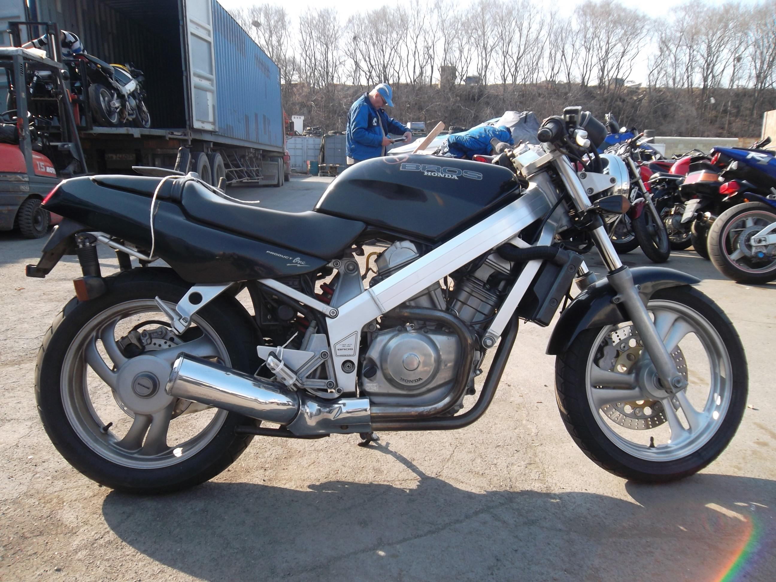 мотоцикл honda bros отзывы