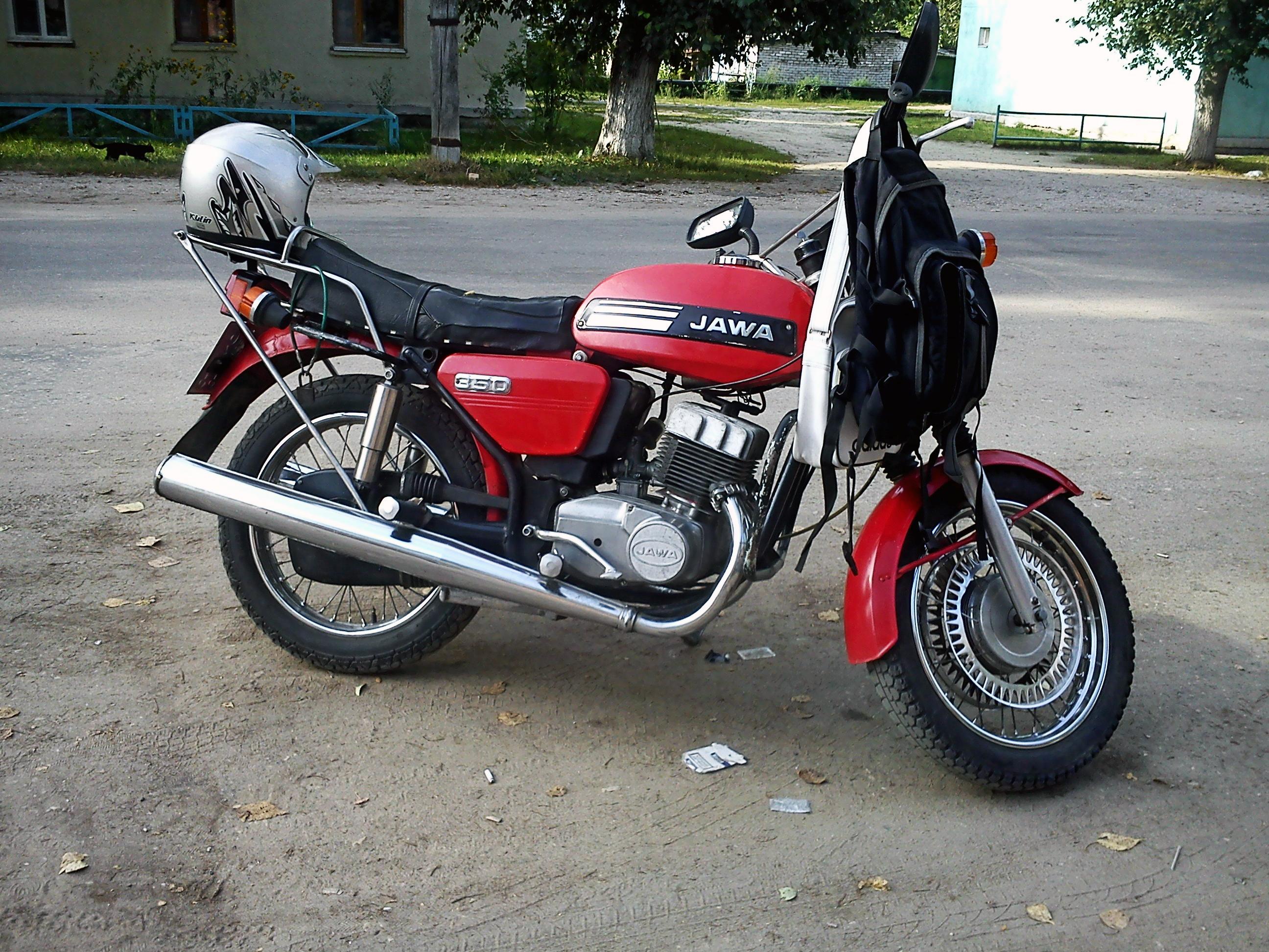 мотоцикл ява 638