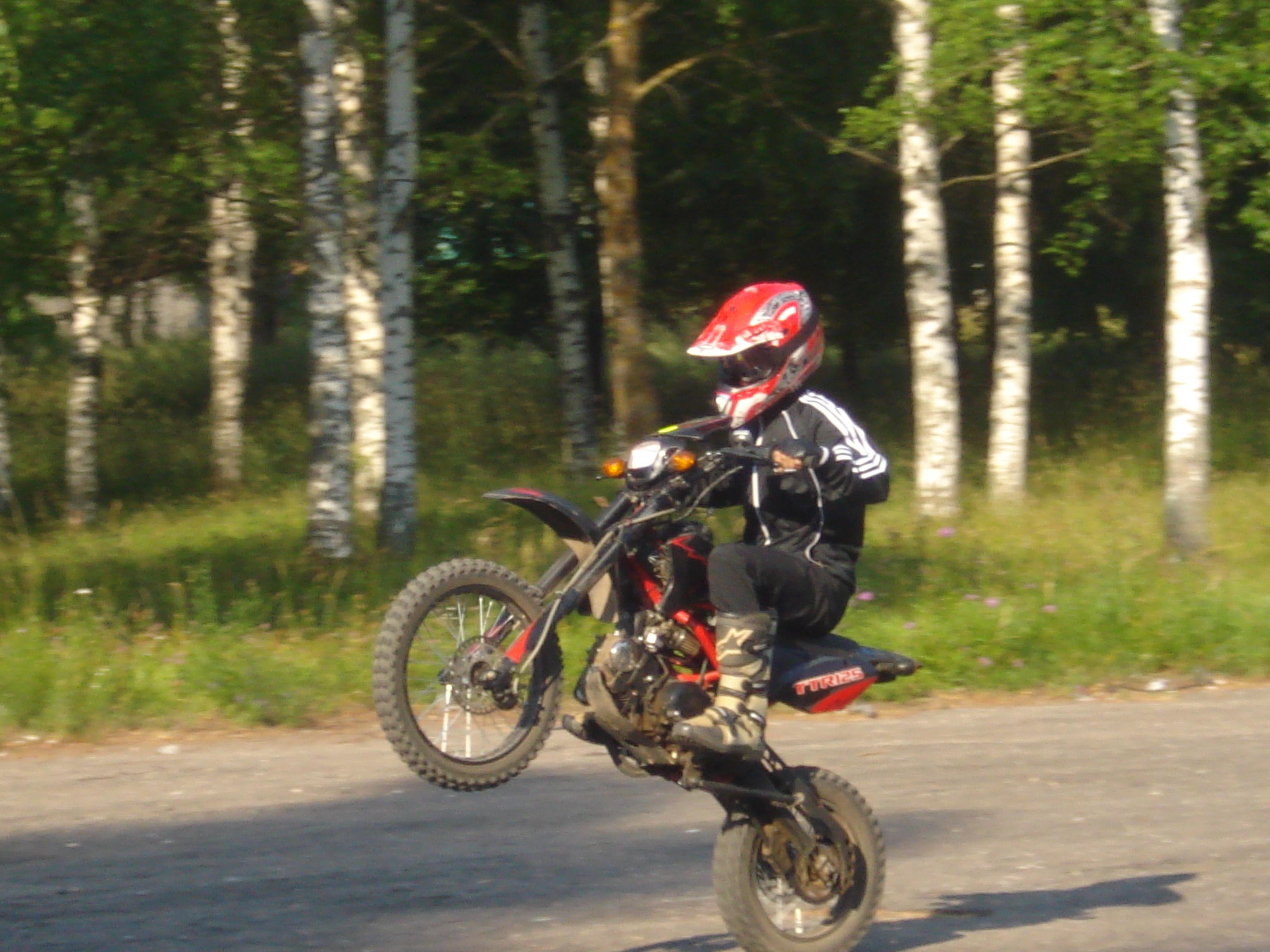 Мотоцикл irbis ttr 125 я и мой мот