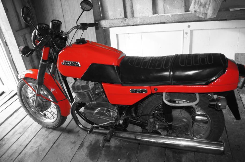 Мотоцикл jawa cz 350 jawa350 638