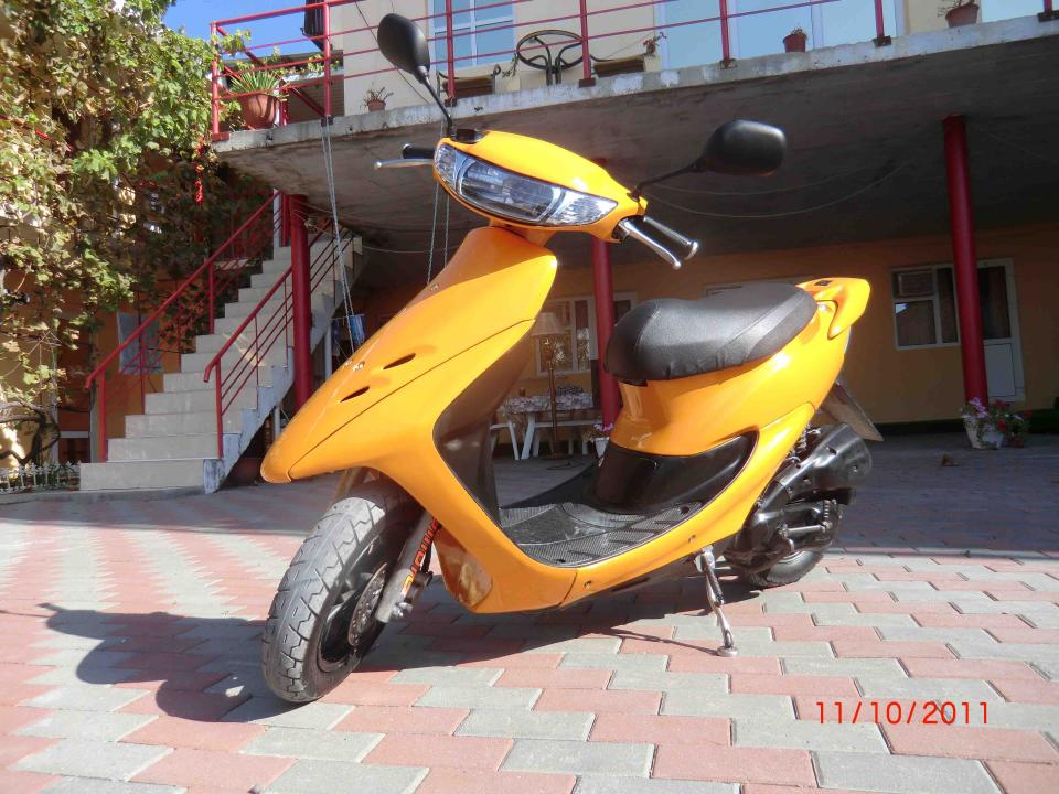 мотоцикл Honda - Dio - Honda Dio 35ZX (Crazy Orange)