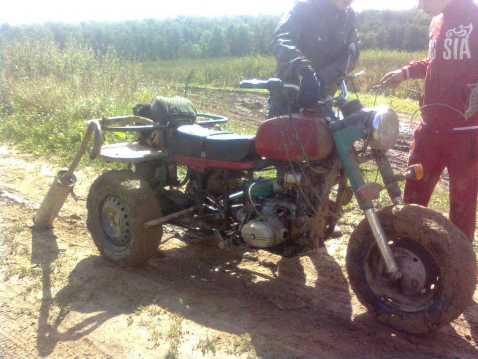 Мотоцикл Урал 650 Переделка из Квадрацикла в ТрехКолесный. - Отзывы комментарии описание