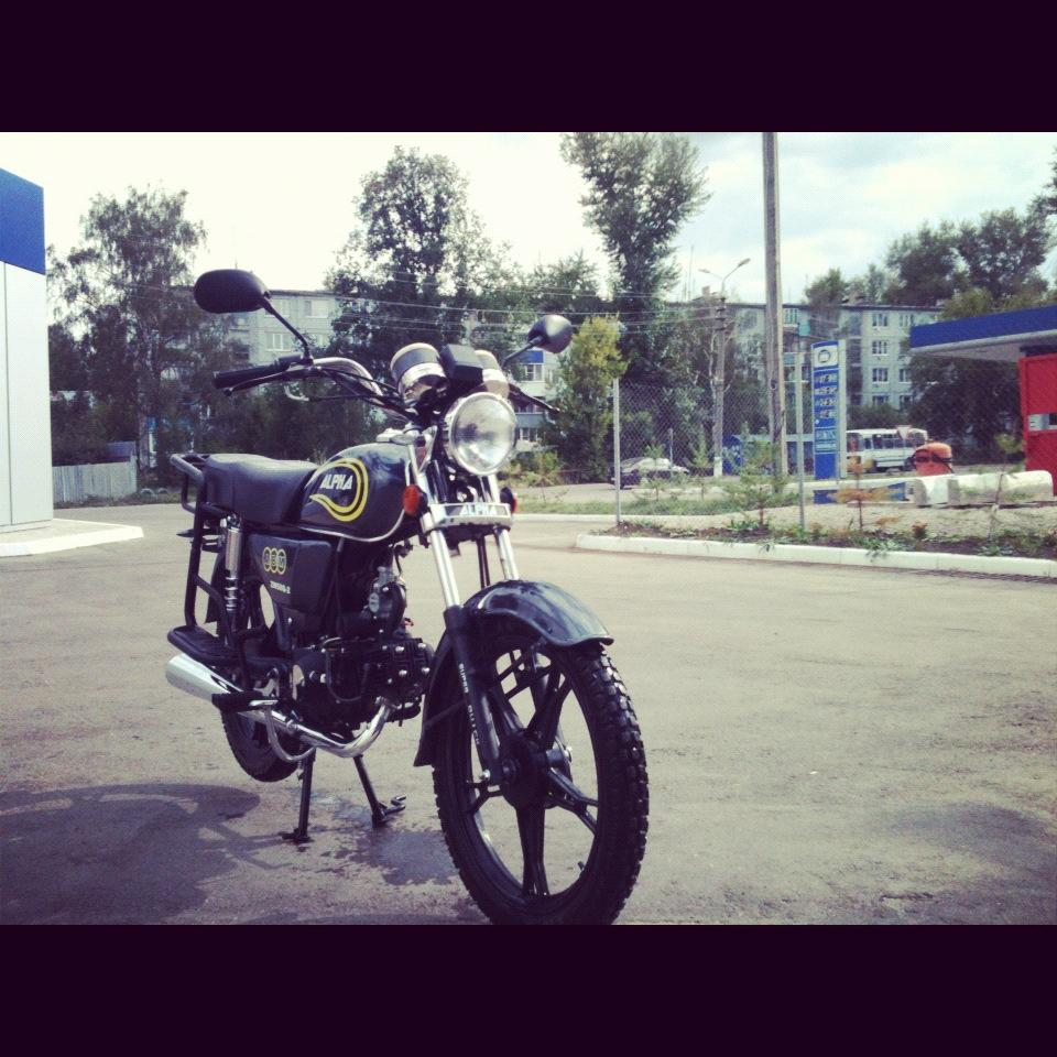 мотоцикл ABM -  Patron-110 - Moped