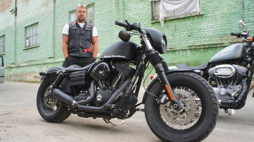мотоцикл Harley - Fat Bob - FAT CAT WGC