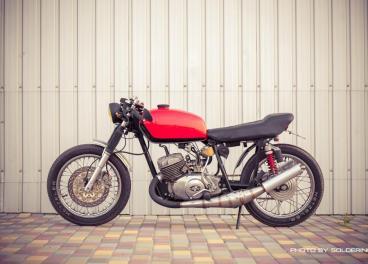 мотоцикл - ИЖ - громовержец 0