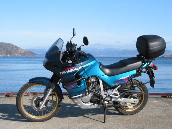 В Печенге угнали мотоцикл с ключами в замке зажигания