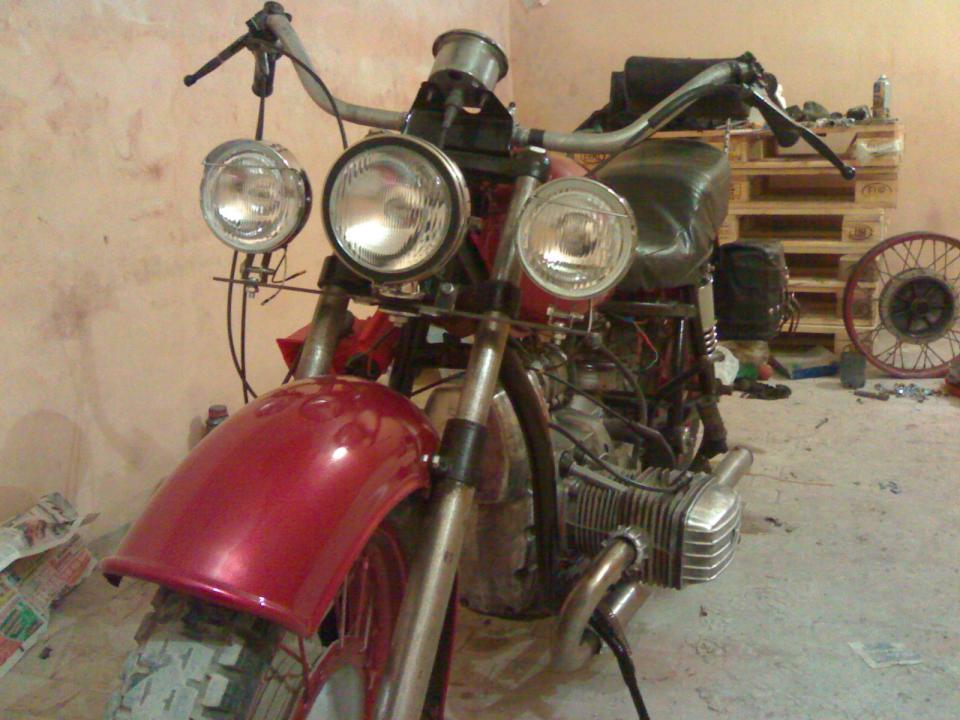 Люстра для мотоцикла своими руками 23