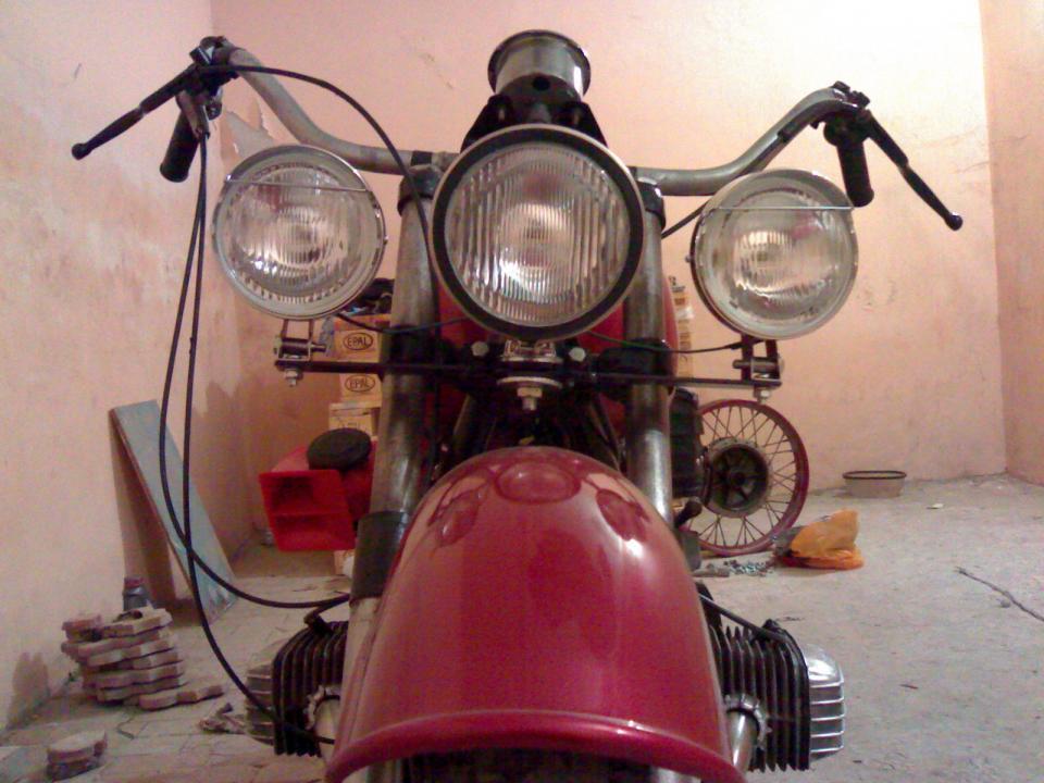 Люстра для мотоцикла своими руками 18