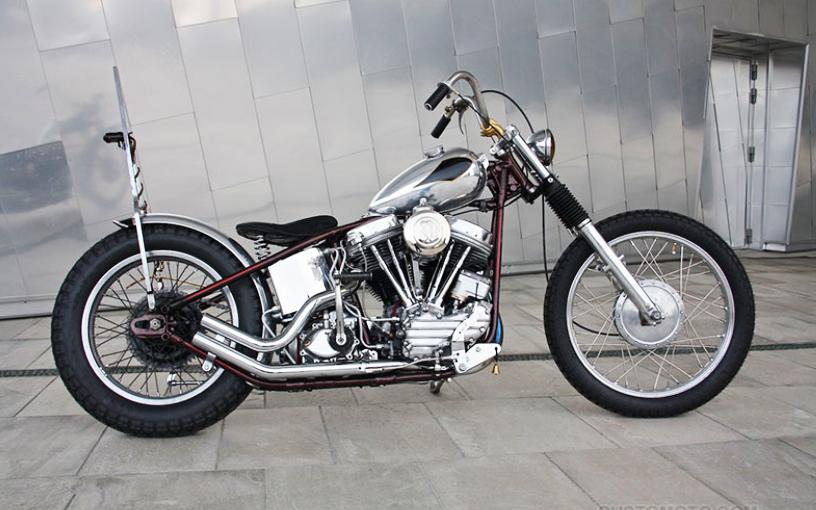 Винтаж - Harley Panhead 1964 г.в.