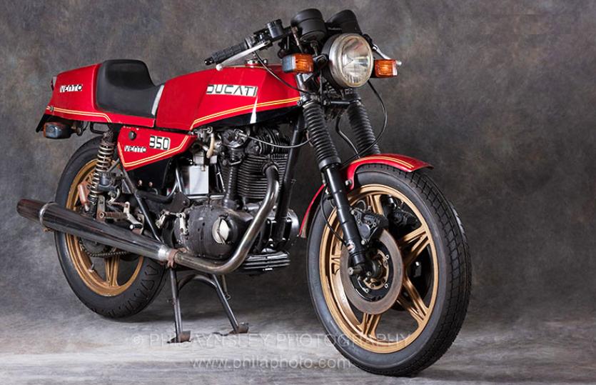 Ducati Vento 350 - общий ребенок