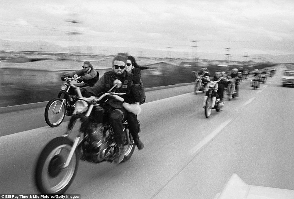 """Байк клуб """"Ангелы Ада"""", 1965 год"""