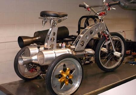 Необычные и бесполезные мотоциклы