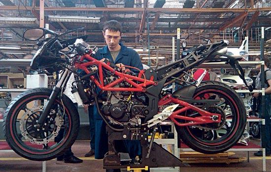 Yamaha R1 будет выпускаться в Минске