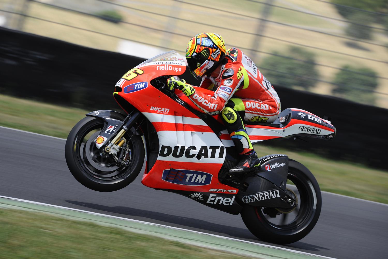MotoGP 2012 - итальянцы разлюбили Росси