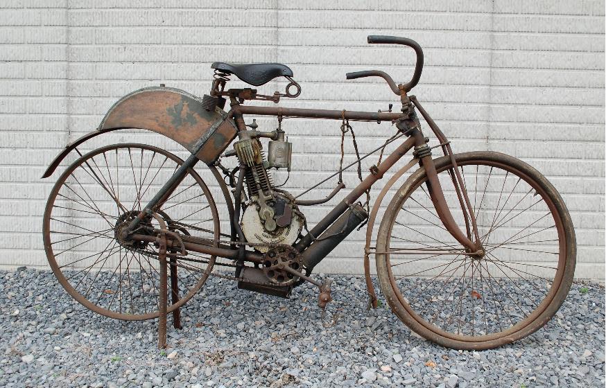 Самый старый мотоцикл в продажу