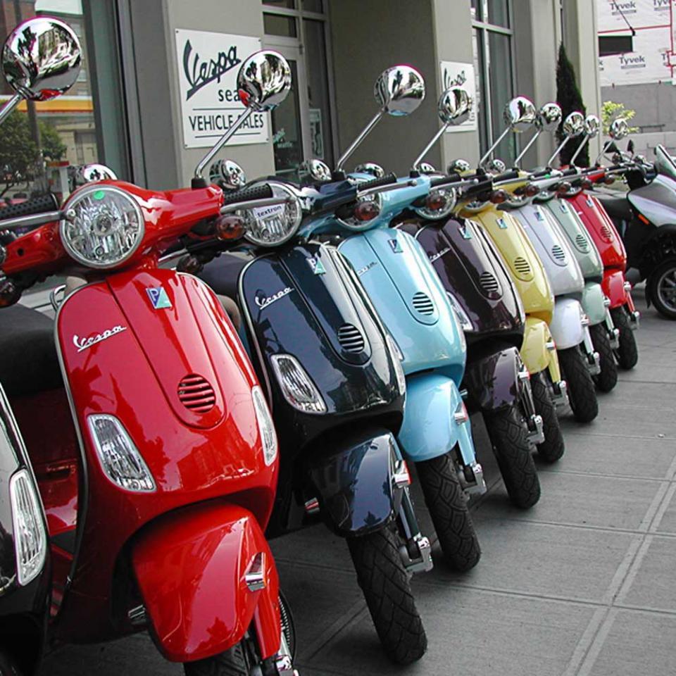 Скутеры и скутеристы в США