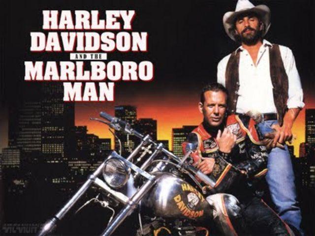 Мотоциклы в фильмах из прошлого