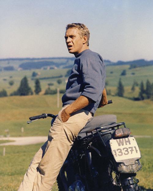 Мотоцикл Стива Маккуина от Von Dutch