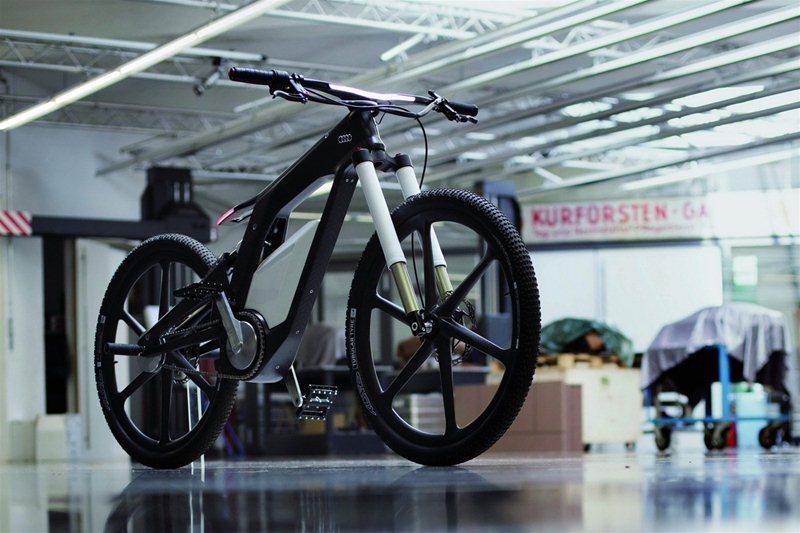Электровелосипед Audi
