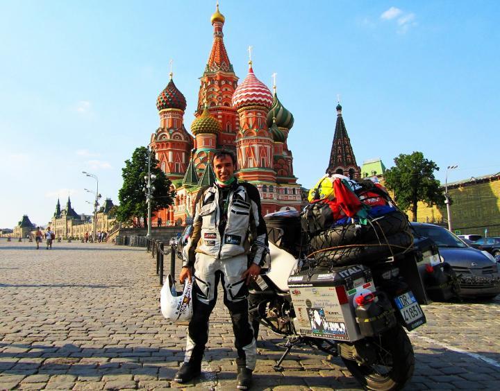 Давид Бига - кругосветный путешественник