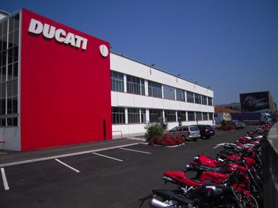 Ducati пострадали от землетрясения