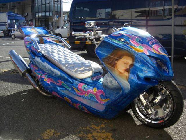 Тюнинг скутера по японски