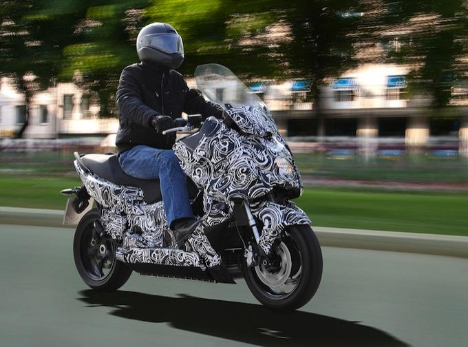 Электроскутер BMW E-Scooter