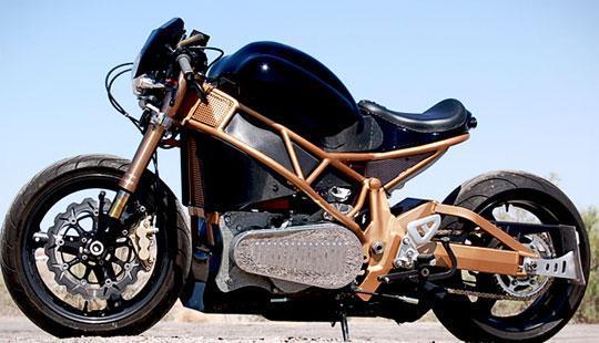 Электрический мотоцикл Brutus