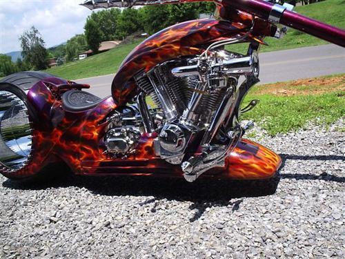Мотоцикл без спиц The Hubless Monster