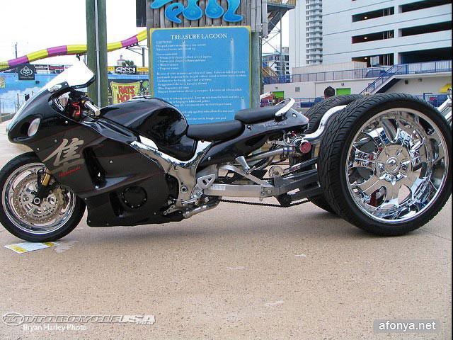 Длинные мотоциклы