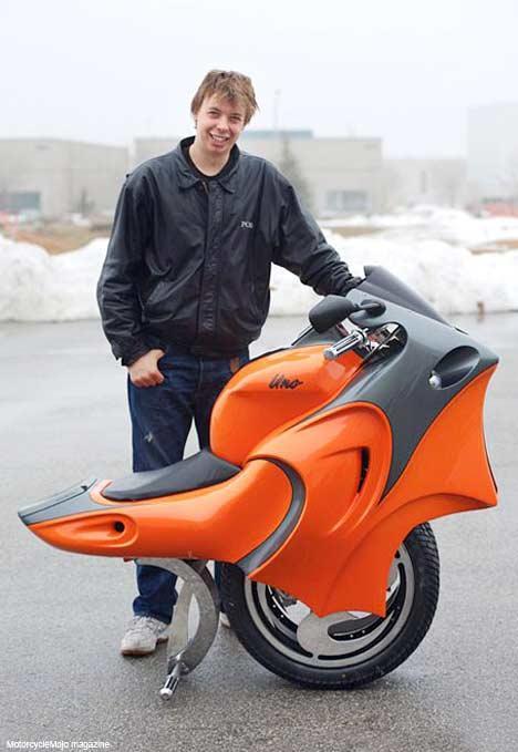 Одноколесный скутер своими руками 46
