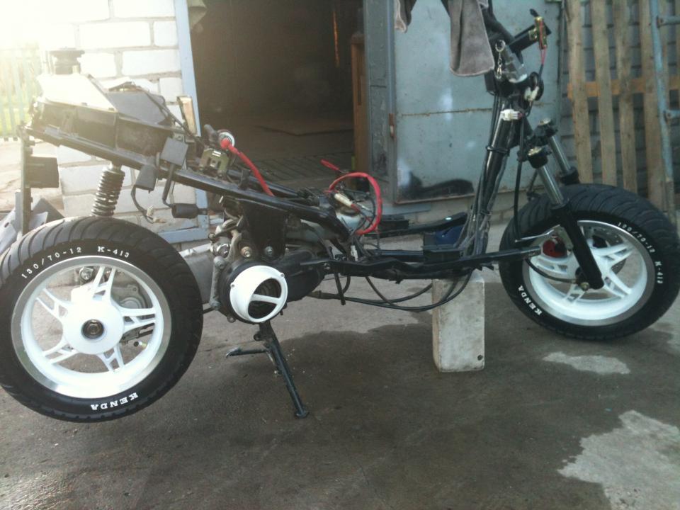 Обновленные колеса)