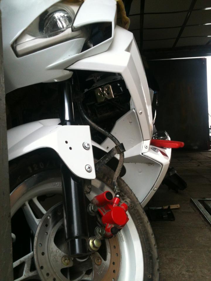 Stage1. Снятие двигателя.