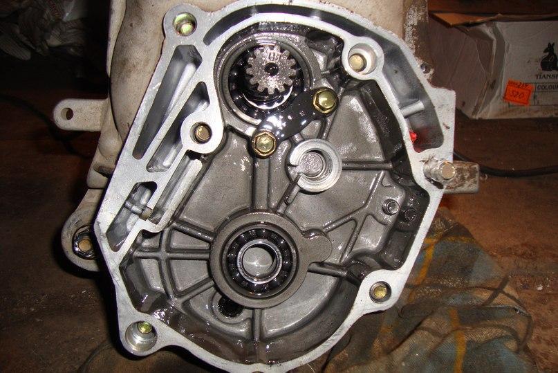 Stage2. Разборка двигателя.