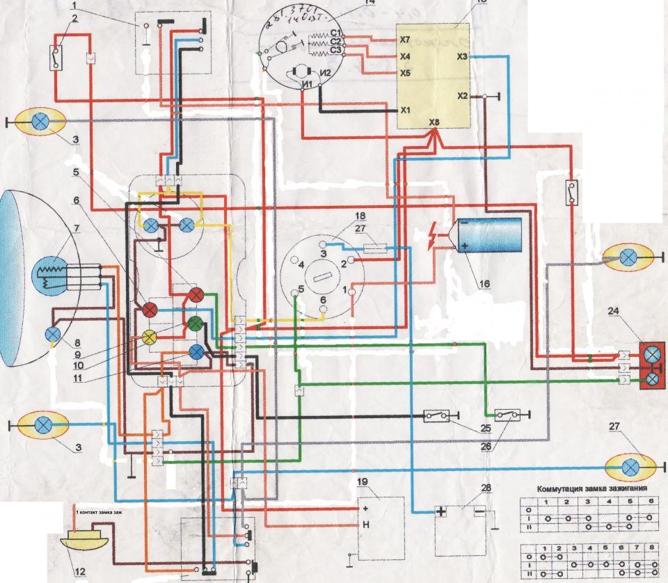 схема регулятора выпрямителя напряжения иж планета