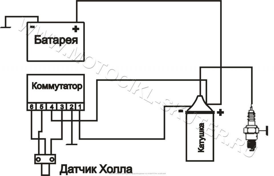 Схемы РР, проводки, коммутатора, БПВ Мотоцикл ИЖ - Планета 5.