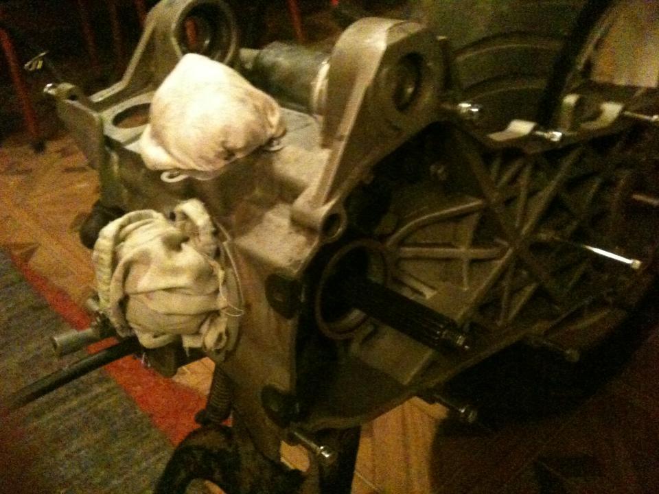 Stage4. Начало сборки двигателя + дополнение...
