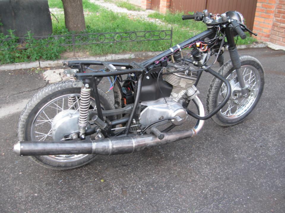 Как сделать прямоток на мотоцикл иж - Russkij-Litra.ru