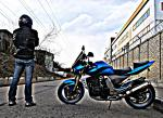 мотоцикл Kawasaki - Z - My Street Fighter Z-1000