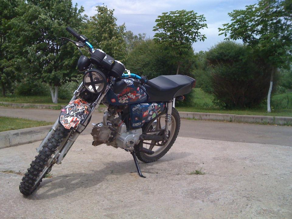 VIRAGO (ALPHA) custom.