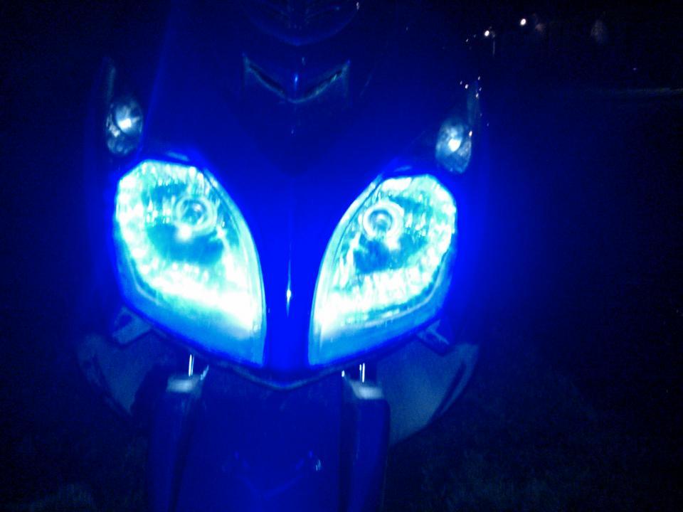 Ангельские глазки да мотоцикла