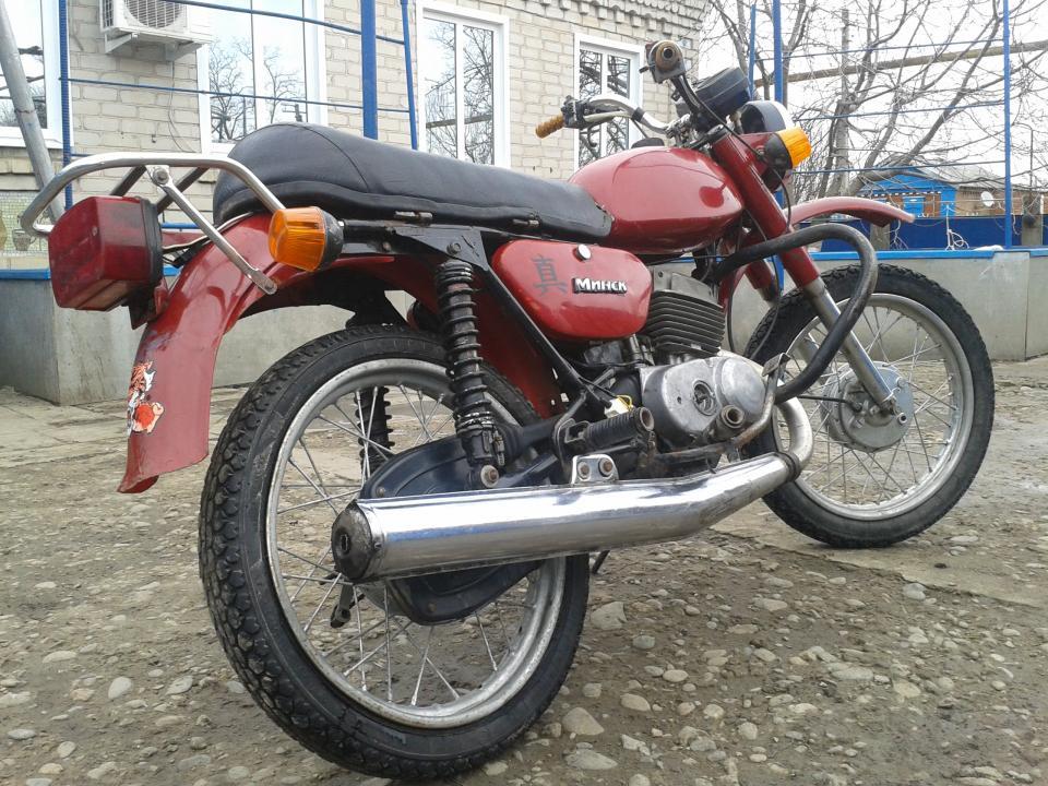 Мотоцикл минск c 125 минск